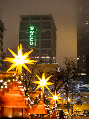Holidazzle in Minneapolis, December, 2014 Weather Photo of the Day chosen by WCCO